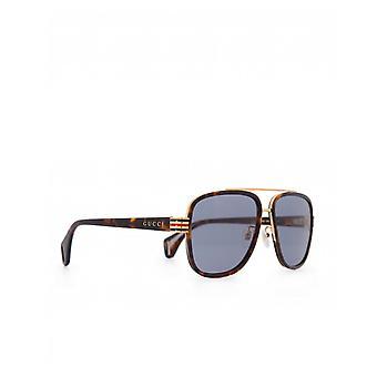 Óculos de sol Gucci óculos metal Bridge acetato