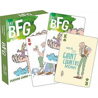 Roald Dahl die BFG-Deck von 52 Spielkarten (nm)