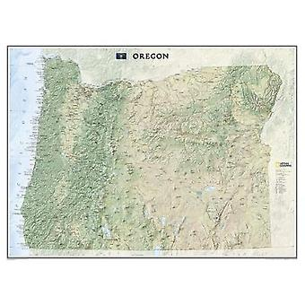 Oregon - Tubed - Wall Maps U.S. by National Geographic Maps - 97815977