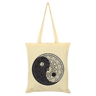 Onorthodoxe collectieve Yin Yang Mandala Tote Bag