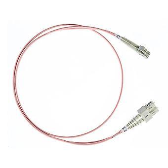 3M Lc Sc Om1 متعدد الألياف البصرية كابل السلمون الوردي
