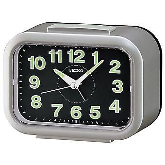 Seiko Alarm Clock Analogue - Silver (QHK026S)