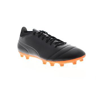 Puma One 17,4 FG mens zwart atletische Soccer cleats schoenen