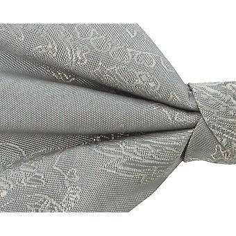 Dobell gutter sølv Paisley bow tie pre-bundet
