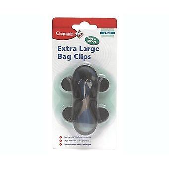 Clippasafe 2 Large Bag Clips