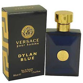 Versace pour Homme Dylan Blue av Versace Eau de Toilette Spray 1,7 oz (herrar) V728-534783