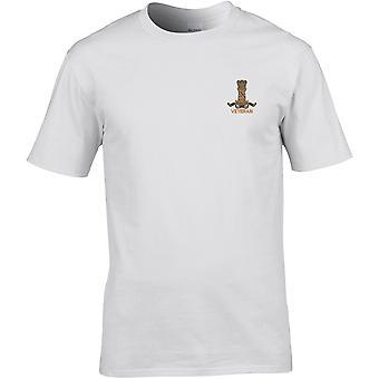 11 Hussars Veteran - Licensed British Army Embroidered Premium T-Shirt