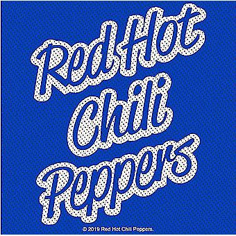 Red Hot Chili Peppers ' track top ' SEW-on klud patch 100mm firkant (RZ)