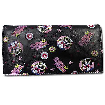 Wallet - Sailor Moon - Sailor Moon Pattern Girl Style Toys Anime Licensed ge80262
