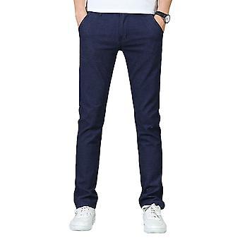 Pantalon Allthemen Men-apos;s Pants Cotton Slim Fit Mid-Wasit Travel Casual Pants