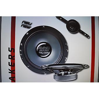 Audio Mac Mobile Street 2.16 F plat haut-parleur composants système 240 Watts, 1 paire