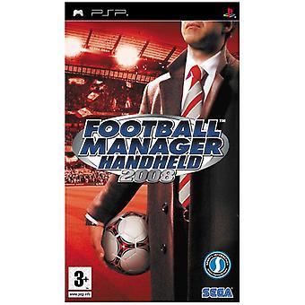 Football Manager handhållen 2008 (PSP)-fabriken förseglad