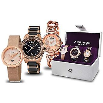 Akribos XXIV Clock Donna Ref. AK766RG_Rose-Standard