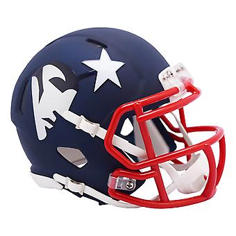 Riddell Speed Mini Football Helmet - AMP New England Patriots