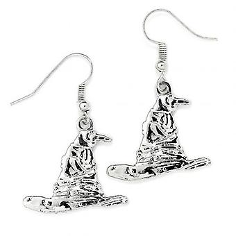 Harry Potter Silver Plated Earrings Sorting Hat