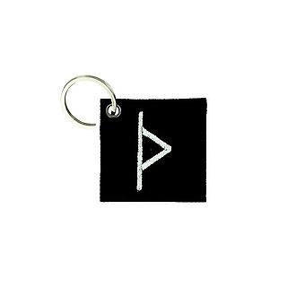Cle Cles Key Brode Patch Ecusson Flag Vinland Odin Viking Troll