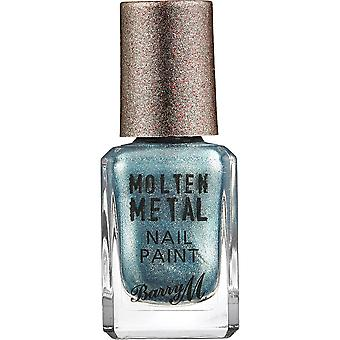 Barry M Molten Metal Nail Polish Collection - Blue Glacier (MTNP6)