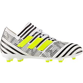 adidas Performance Boys Nemeziz 17.1 Firm Ground Training Football Boots - White