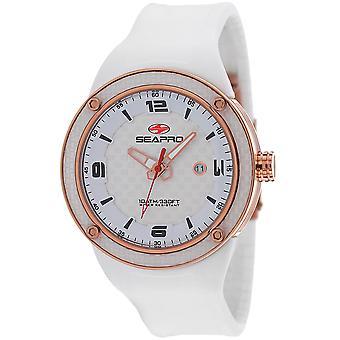 Seapro Men's Driver White Dial Watch - SP2114