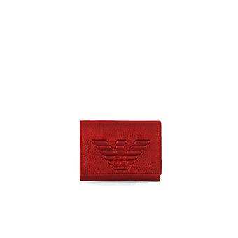 EMPORIO ARMANI RUBY RED SMALL WALLET