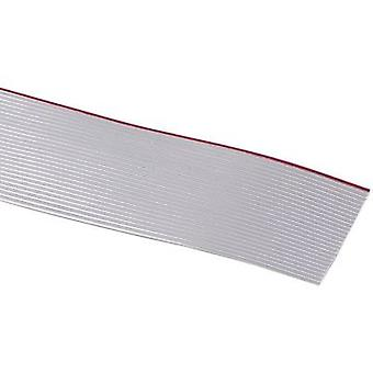 3M 7000057943 Ribbon cable Contact spacing: 1.27 mm 20 x 0.08 mm² Grey Sold per metre
