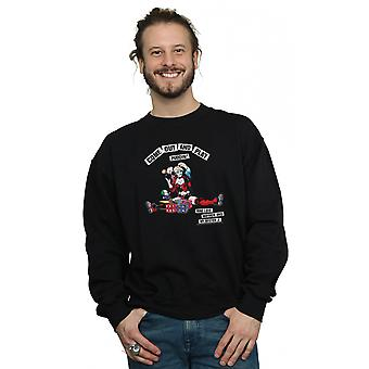DC Comics Men's Harley Quinn Come Out And Play Sweatshirt