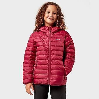 New Berghaus Girl's Kirkharle Insulated Jacket Red