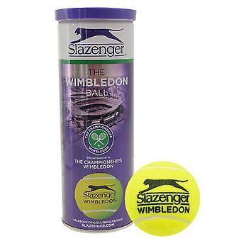 Slazenger Unisex Wimbledon 3 pack tennis boll HydroGuard