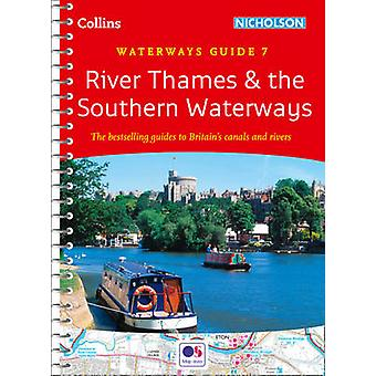 River Thames and Southern Waterways by Collins Maps