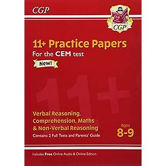 New 11 CEM Practice Papers  Ages 89 with Parents Guide
