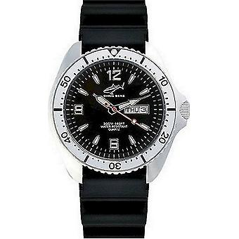 Chris Benz watch diver watch one CBO-S-KB-SI