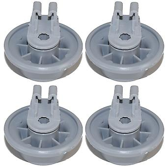 Dishwasher Lower Basket Wheel For Bosch Neff Siemens x 4