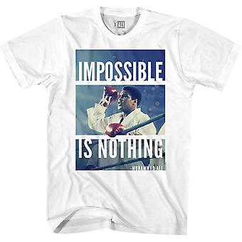American Classics Muhammad Ali Impossible Is Nothing T-Shirt - White