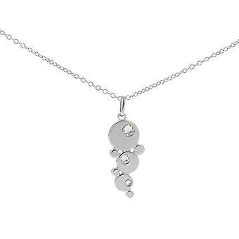 Collar and pendant Les Interchangeables A59116 - Women's Palladium Strasse Bubble