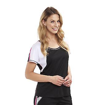 Rosch 1193211-16399 Women's Pure Black Pyjama Top