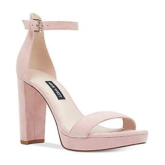 Nine West Womens Dempsey Leather Open Toe Special Occasion Ankle Strap Sandals
