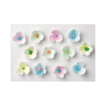 Culpitt Assortiti Fiori di zucchero - Rosa, Lilla, Verde, Blu, Giallo
