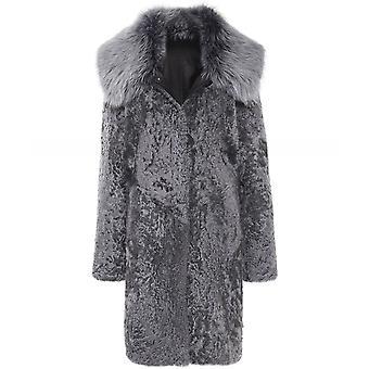 Dom Goor Reversible Cocoon Coat