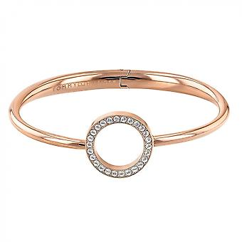 Tommy Hilfiger 2780066 Rose Gold Tone Open Circle Bangle