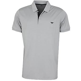 Wolsey Mens Shadow Stripe Lightweight Golf Polo Shirt