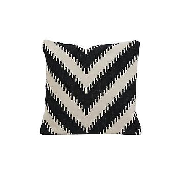 Light & Living Pillow 50x50cm Arrocca Black-White Hook Print