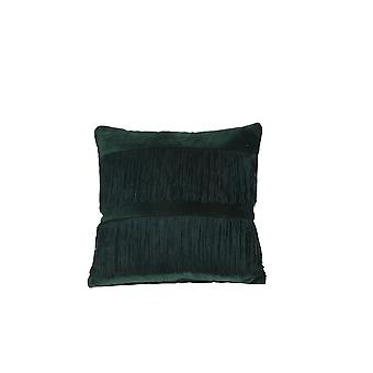 Light & Living Pillow 45x45cm Fringes Green