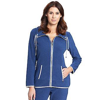 Féraud 3191080-10060 Women's Casual Chic Jeans Blue Loungewear Jacket
