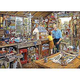 Gibsons - officina Jigsaw Puzzle 1000 pezzi del nonno