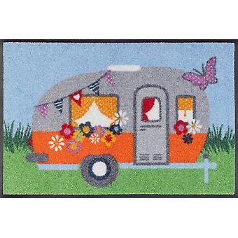 lavabo + felpudo seco Happy Camping 40 x 60 cm pequeño tapete lavable