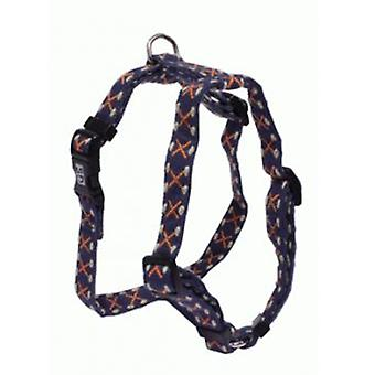 Sandimas Harness Adjustable Fiber Blue (Dogs , Collars, Leads and Harnesses , Harnesses)