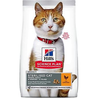 Hill's Young Adult Sterilised Chicken (Cats , Cat Food , Dry Food)