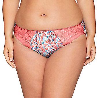 Elomi Women's Plus Size Morgan Brief, Coral Haze, M