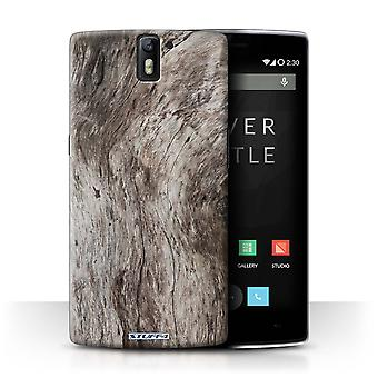 STUFF4 Case/Cover for OnePlus One/Grain/Tree Bark
