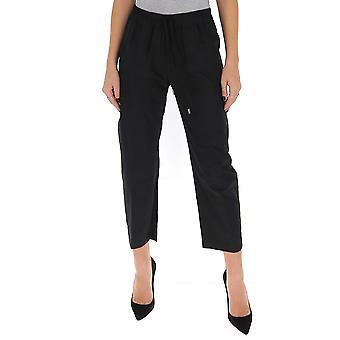 Gentry Portofino D330peg0009 Women's Black Cotton Pants